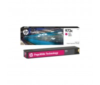 Картридж пурпурный HP 973X / F6T82AE повышенной емкости для HP PageWide 452dw Pro / 477dw Pro оригинальный