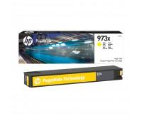 Картридж желтый HP 973X / F6T83AE повышенной емкости для HP PageWide 452dw Pro / 477dw Pro оригинальный