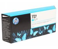 Картридж голубой HP 727 / F9J76A  повышенной емкости для HP DesignJet T920 / T930 / T1500 / T1530 / T2500 / T2530 (300МЛ.) оригинальный