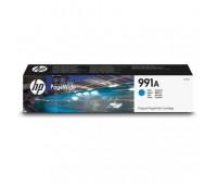 Картридж голубой HP 991A / M0J74AE для HP PageWide 750dw Pro / 772dn Pro / 774dn Pro / 777z Pro оригинальный