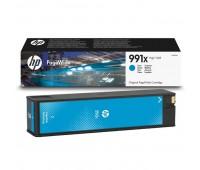 Картридж голубой HP 991X / M0J90AE повышенной емкости для HP PageWide 750dw Pro / 772dn Pro / 774dn Pro / 777z Pro оригинальный
