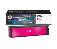 Картридж пурпурный HP 991X / M0J94AE повышенной емкости для HP PageWide 750dw Pro / 772dn Pro / 774dn Pro / 777z Pro оригинальный