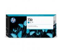 Картридж голубой HP 730 / P2V68A повышенной емкости для HP DesignJet T1700 (300МЛ.) оригинальный
