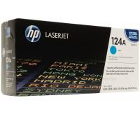 Картридж голубой HP Color LaserJet hp 124a Q6001A оригинальный