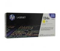 Картридж желтый HP Color LaserJet HP 124A  Q6002A оригинальный