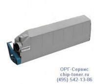 Картридж голубой OKI C9300 ,совместимый