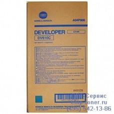 Девелопер голубой  Konica Minolta DV-610C, 1100гр.,оригинальный