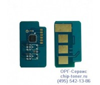 Чип голубого картриджа  Samsung CLP-360 / 365 / 365W / 368 ,CLX-3300 / 3305
